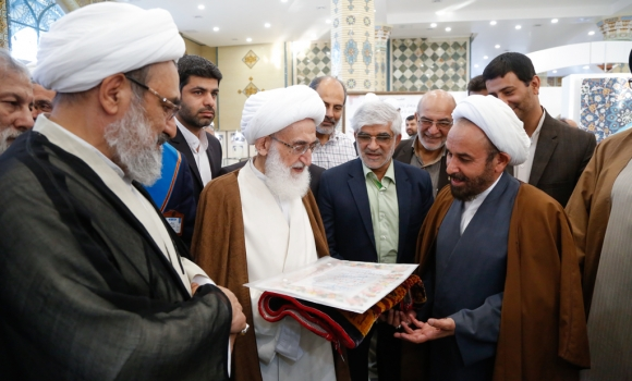 موزه دین و دنیا با حضور آیتالله نوری همدانی در مسجد مقدس جمکران افتتاح شد