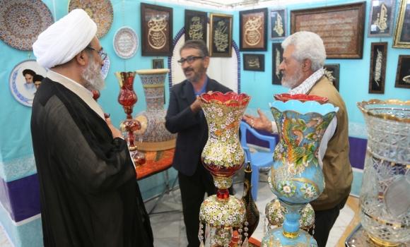 نمایشگاه «قدمی برای ظهور» با حضور تولیت مسجد مقدس جمکران آغاز به کار کرد