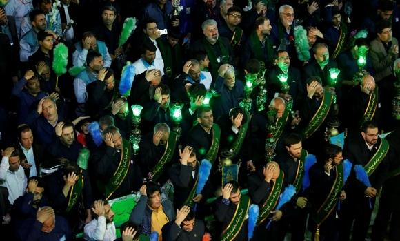 مراسم شکرگزاری خادمان مسجد مقدس جمکران
