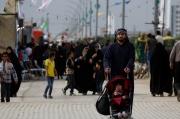 پیاده روی منتظران ظهور از حرم مطهر به مسجد مقدس جمکران