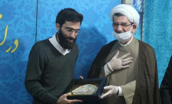 تجلیل از خدمات ارزنده سردار دیپلماسی از سوی مسجد مقدس جمکران