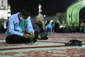 نخستین مراسم دعای کمیل پس از بازگشایی مسجد مقدس جمکران