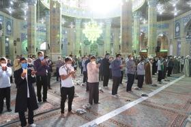نماز عید قربان به امامت آیت الله کعبی