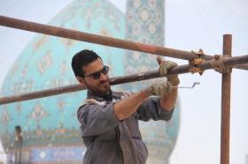 احداث اماکن مسقف در صحن مسجد جمکران برای برگزاری مراسم دعای عرفه