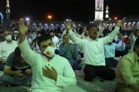 مراسم قرائت دعای توسل در میعاد منتظران