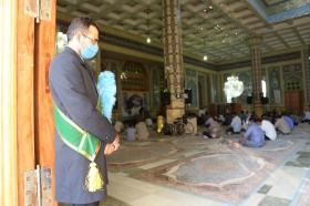 ندبه انتظار در فضای قدسی مسجد مقدس جمکران