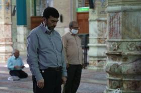 تشرف سرپرست وزارت صنعت، معدن تجارت به مسجد مقدس جمکران