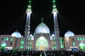 مراسم شب شهادت جواد الائمه(علیه السلام) در مسجد مقدس جمکران