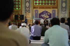 زمزمه دعای ندبه در آستانه عید غدیر خم
