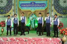 جشن شب عید غدیر در مسجد مقدس جمکران