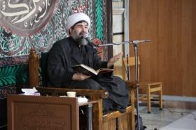 مراسم مقتل خوانی روز عاشورا در مسجد مقدس جمکران