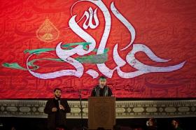 شب تاسوعای حسینی در مسجد مقدس جمکران