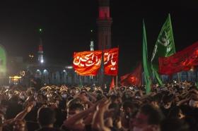 حال و هوای شب عاشورای حسینی در وعده گاه منتظران قیام