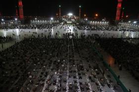 توسل به حریم کبریا در فضای قدسی مسجد مقدس جمکران