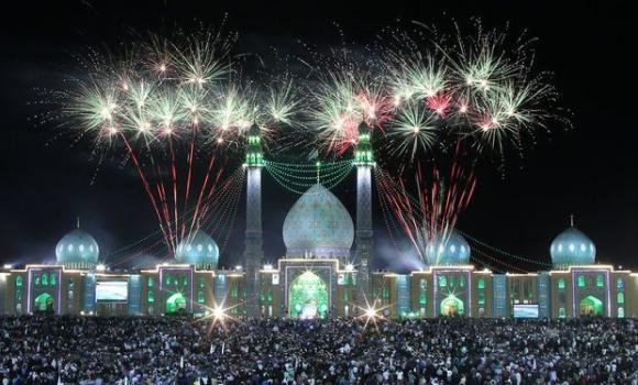 تلاش برای ثبت جهانی جشنهای نیمه شعبان در مسجد مقدس جمکران