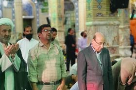 تشرف تولیت حرم زینب (سلامالله علیها) به مسجد مقدس جمکران