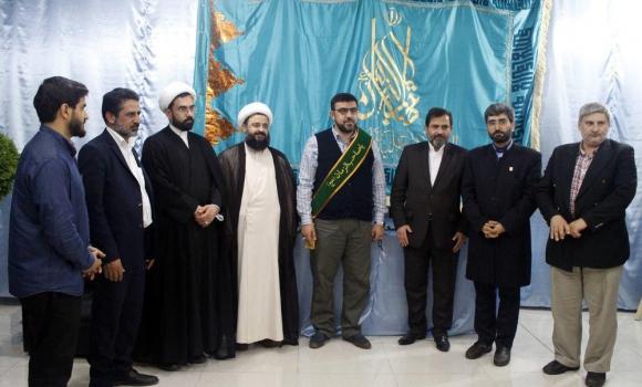 شهردار نبطیه لبنان خادم افتخاری مسجد مقدس جمکران شد