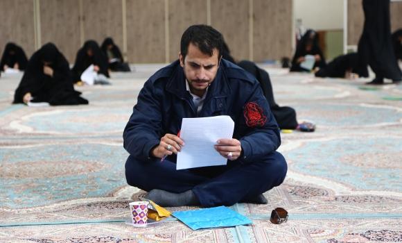 برگزاری مسابقه کتابخوانی گام فرهیختگی در مسجد مقدس جمکران