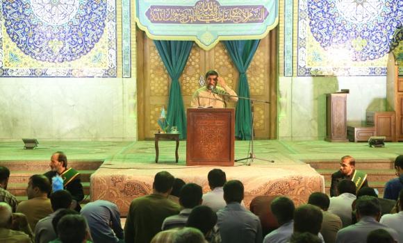 مراسم قرائت دعای توسل در مسجد مقدس جمکران