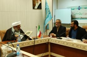 دیدار جمعی از مسئولان بارگاه حضرت عبدالعظیم (علیه السلام) با تولیت مسجد مقدس جمکران