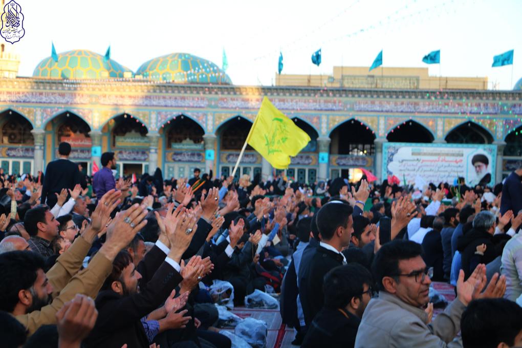 گلچین تصاویر خدام مهدوی در نیمه شعبان مسجد مقدس جمکران