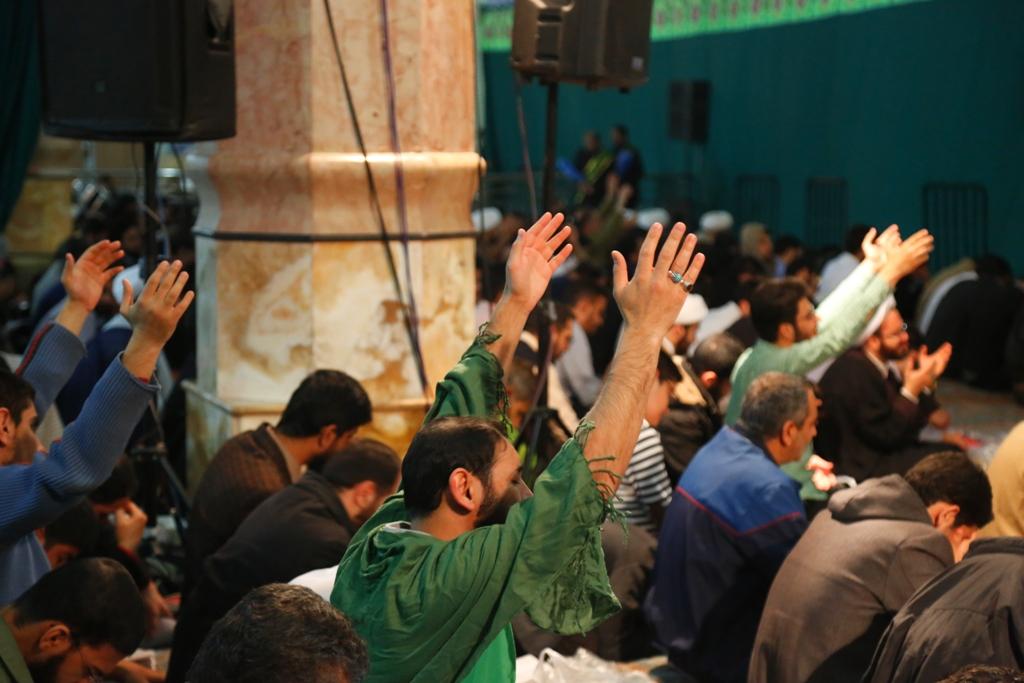 مراسم لیله الرغائب در مسجد مقدس جمکران