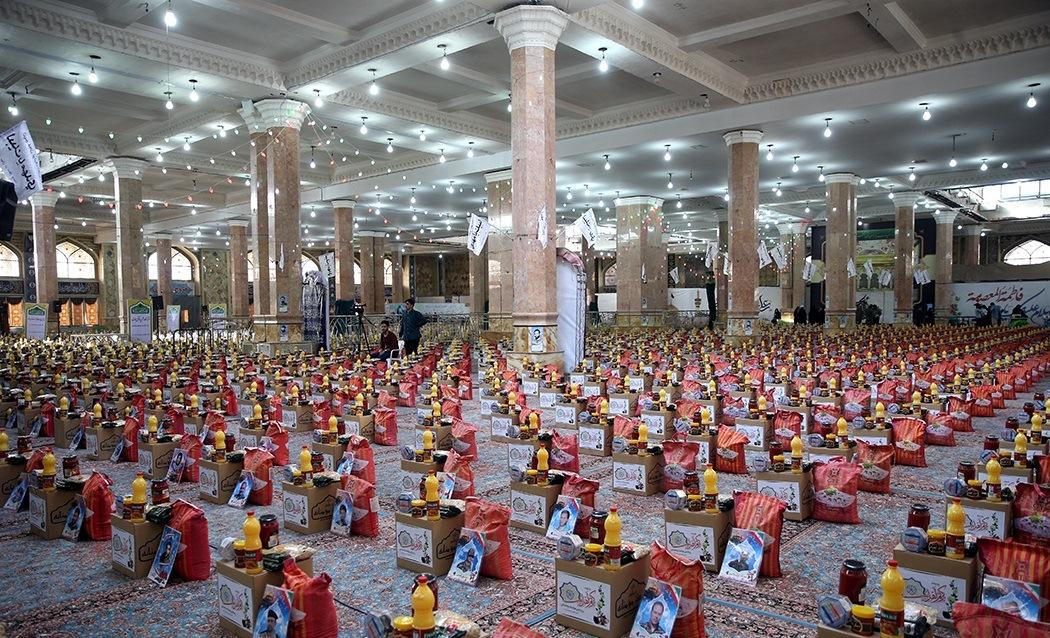 دومین رزمایش همدلی و کمک مومنانه در مسجد مقدس جمکران