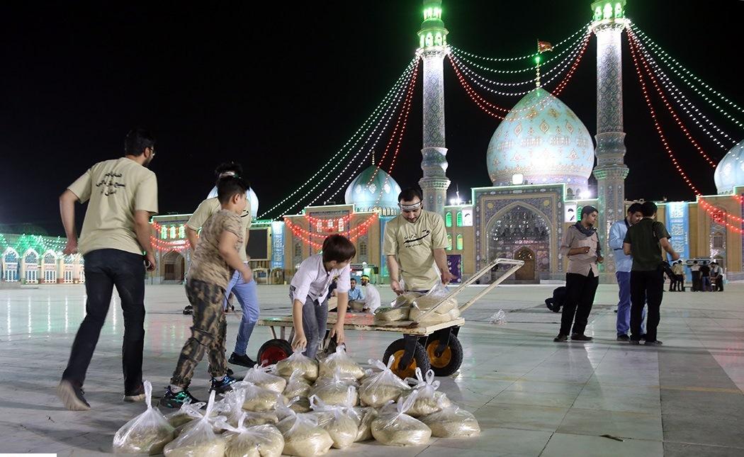 مشارکت بیش از ۵۰ گروه جهادی در طرحهای مواسات و همدلی در مسجد مقدس جمکران