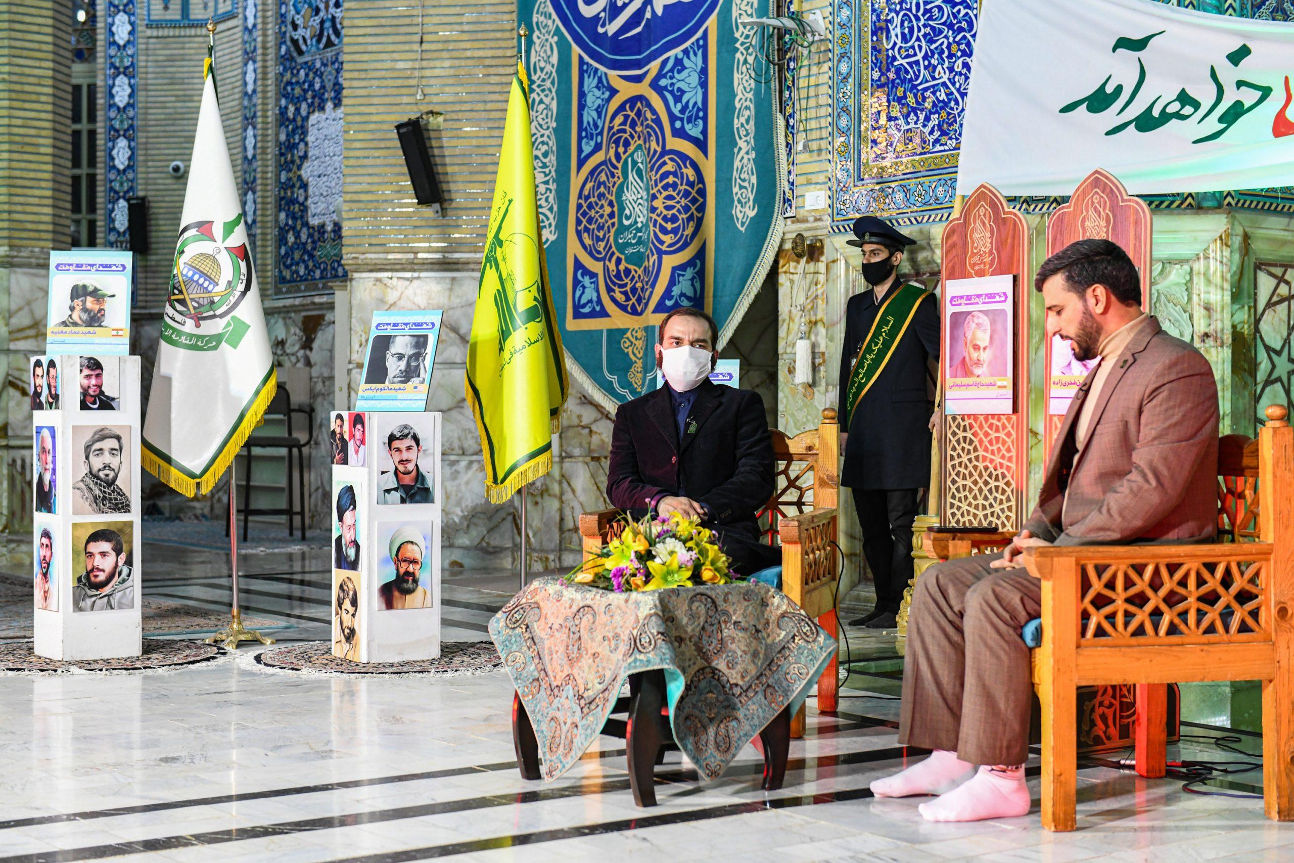 مراسم گرامیداشت شهید محسن فخری زاده در وعده گاه منتظران