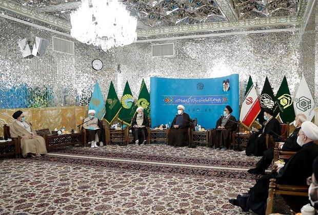 چهارمین اجلاسیه آستانهای مقدس و بقاع متبرکه در مشهد برگزار شد