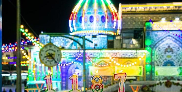 جشن تولد ۱۱۸۷ سالگی حضرت مهدی (عج) در کربلا