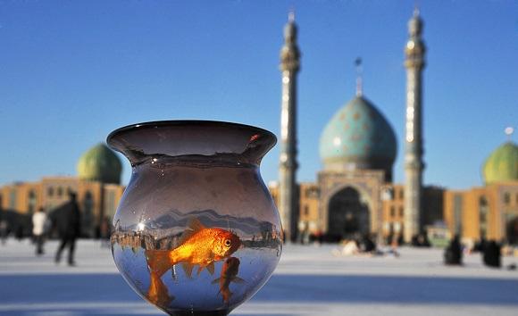 ویژه برنامه تحویل سال ۱۴۰۰ در مسجد مقدس جمکران