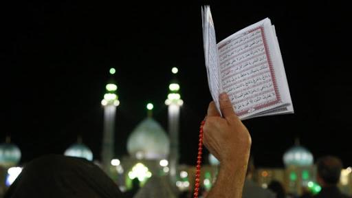 مراسم شب های احیا در مسجد مقدس جمکران
