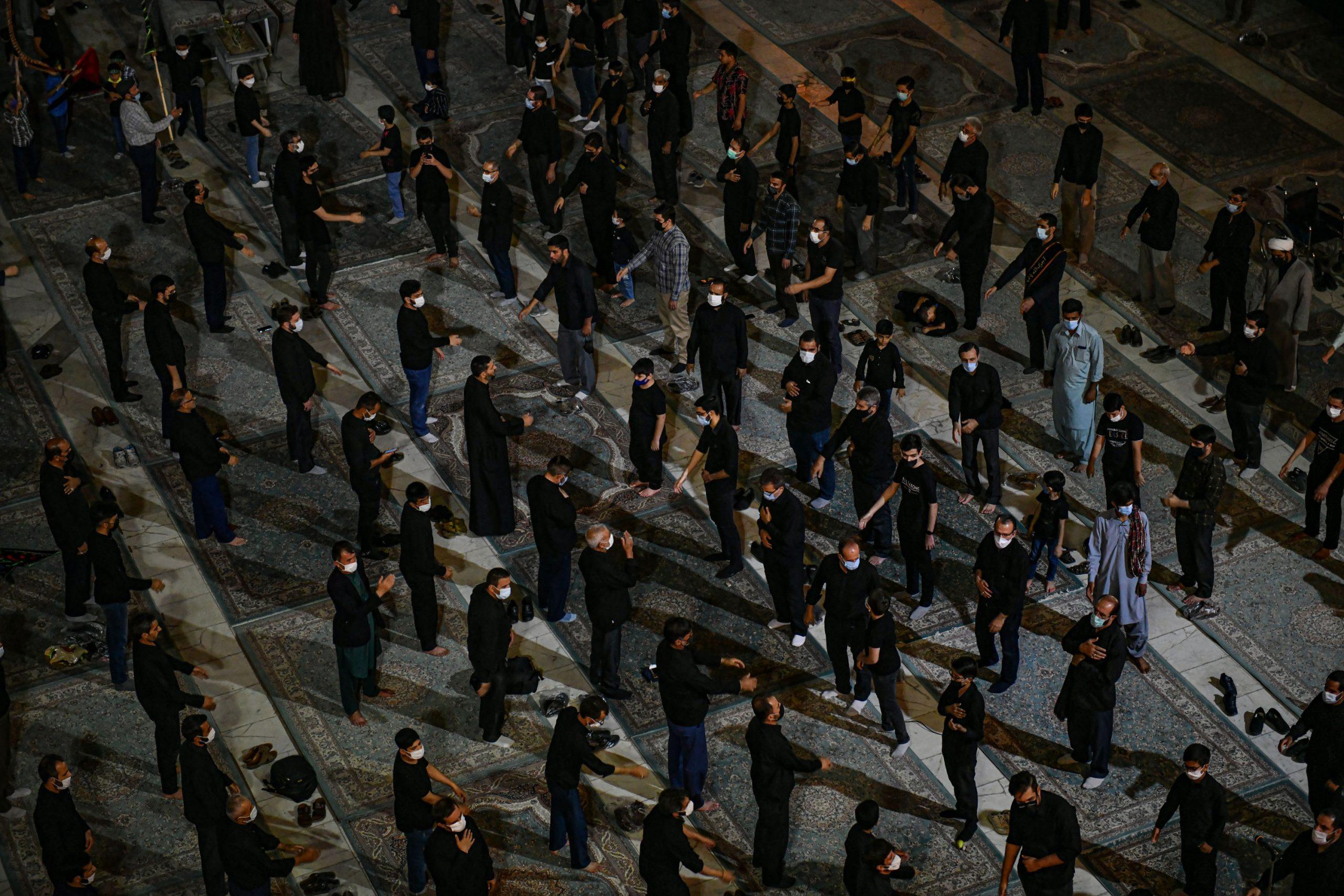 گزارش خبری صدا و سیما از مراسم دهه اول محرم در مسجد مقدس جمکران