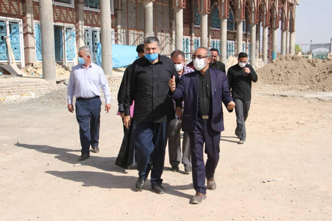 تشرف سردار حزنی به مسجد مقدس جمکران