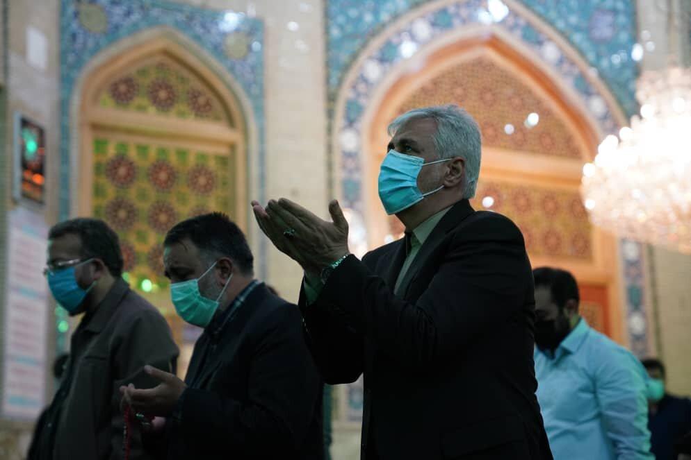 تشرف وزیر ورزش و جوانان به مسجد مقدس جمکران