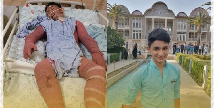دلنوشته حاج مهدی سلحشور برای علی لندی، قهرمان ۱۵ ساله ایذهای