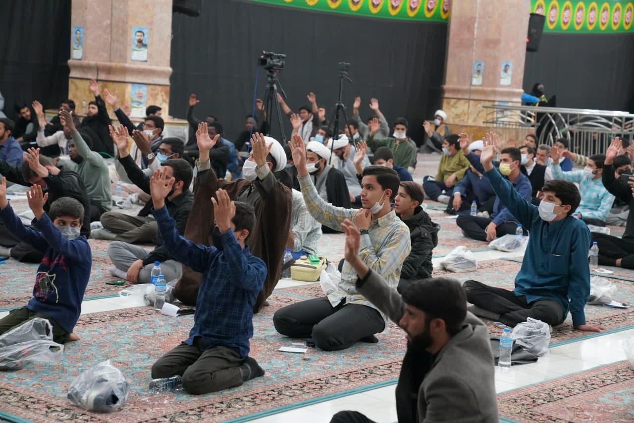 مراسم عهد جانان در مسجد مقدس جمکران